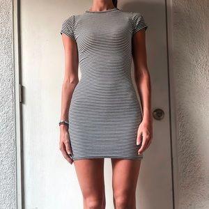 Bodycon Striped Everyday Dress